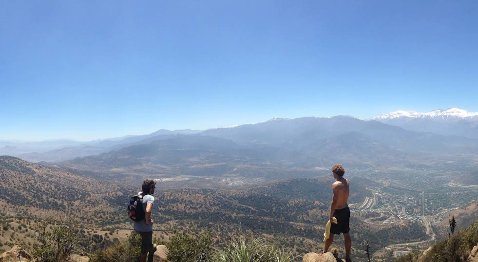Exosphere Bootcamp - Hiking Manquehue in Santiago